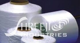 Glass fiber thread
